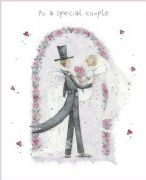 Special Couple Wedding Day Greeting Card